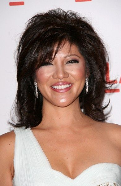 Julie Chen.. incredibly annoying. the ONLY reason why the Talk is still on tv is because of who her husband is.