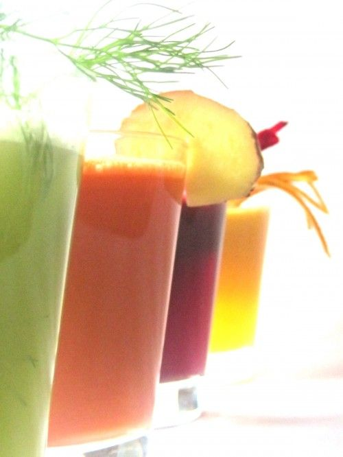 Just on Juice - 3 day juice fast (the juices actually sounds yummy, not like other 'too veggie' juices)