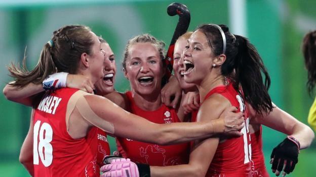 Rio Olympics 2016: Great Britain's women reach their first hockey final - BBC Sport
