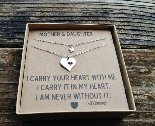 Sterling Silver Mother & Daughter Necklaces, $55.00