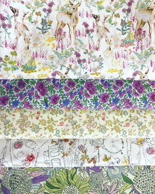 Loving these fabrics together  The Billy A colourway is amazingthestrawberrythieflovelibertydeerdeerfabricbillygoatgoatfabricpurpleandyellowfloralminuetlibertyoflondonlibertytanalawnlibertyfabricsewingpatchworksewcialistquiltersofinstagramfabrichandmademakersmovementlibertylovealpinesymphony