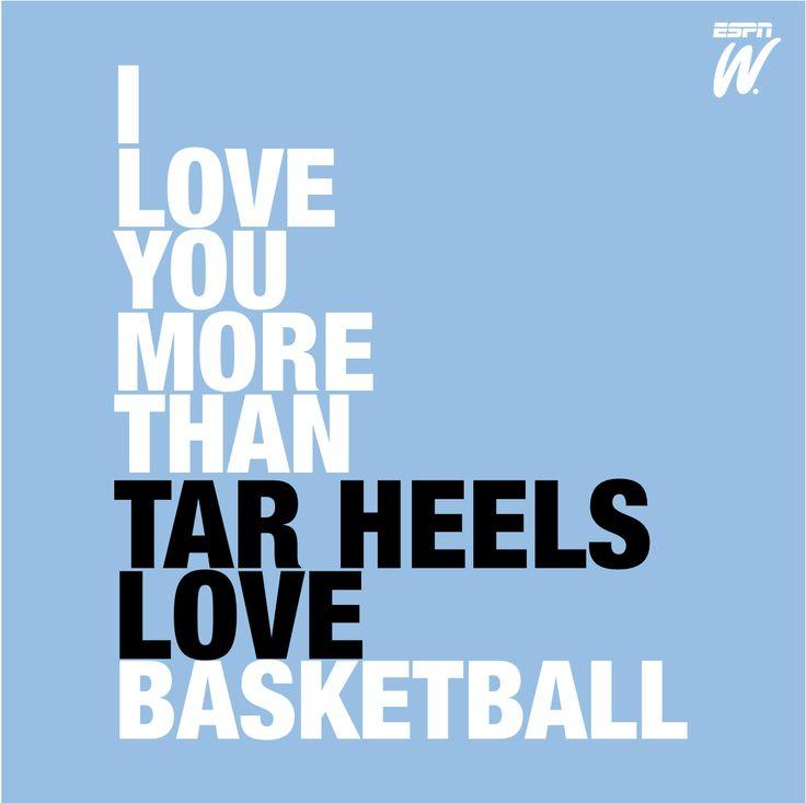 There's no love quite like Tar Heels love. #basketball #usc #tarheels