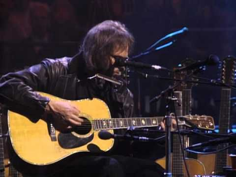▶ Neil Young - Needle And The Damage Done (Unplugged) - From the Harvest album. written for Crazy Horse guitarist Danny Whitten regarding his heroin addiction.