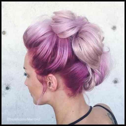 20 Zuckerwatte Frisur #frisuren #madame #Kurzhaarfrisuren #hairstyle #Frauen