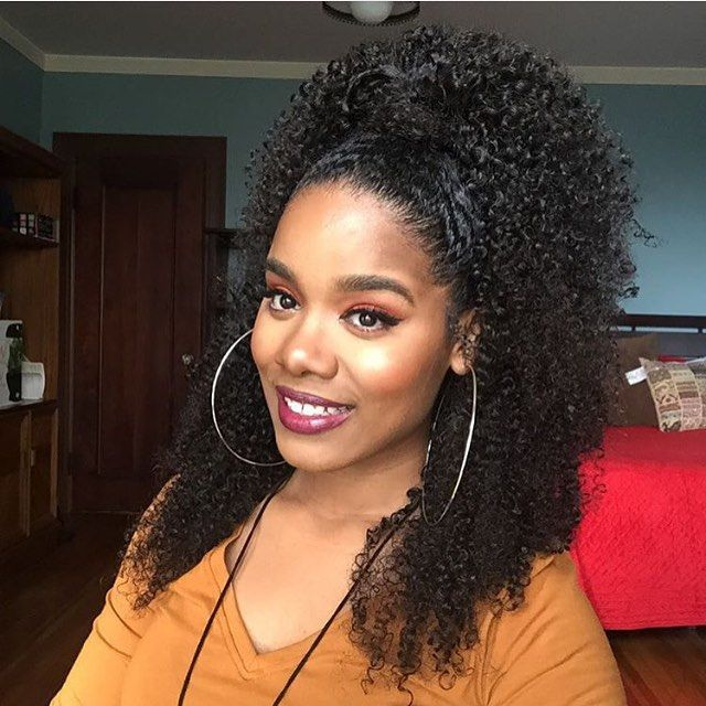 Quick Hairstyles For Kinky Curly Hair : 1531 best #1 natural curly hair! images on pinterest