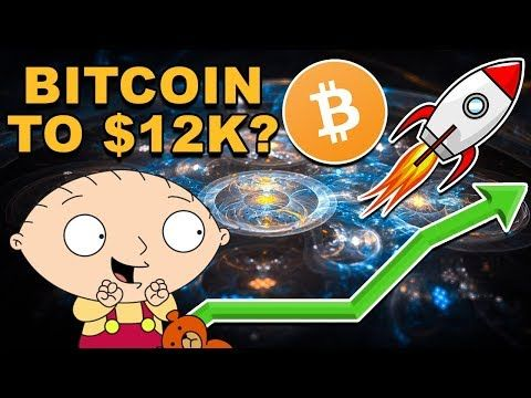 Bitcoin Going to $12,000?! - When Will Bitcoin Go Up? - Should You Buy BTC CryptoCurrency? https://cstu.io/6484eb