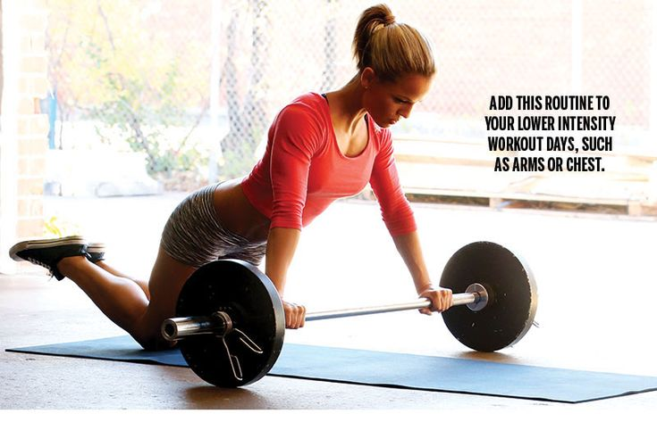 how to get strong abs