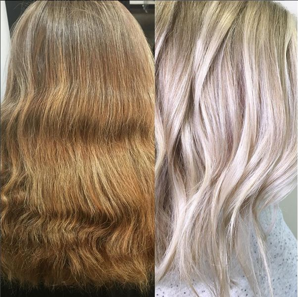 From Brassy To Icy News Balayage Shades Eq Color