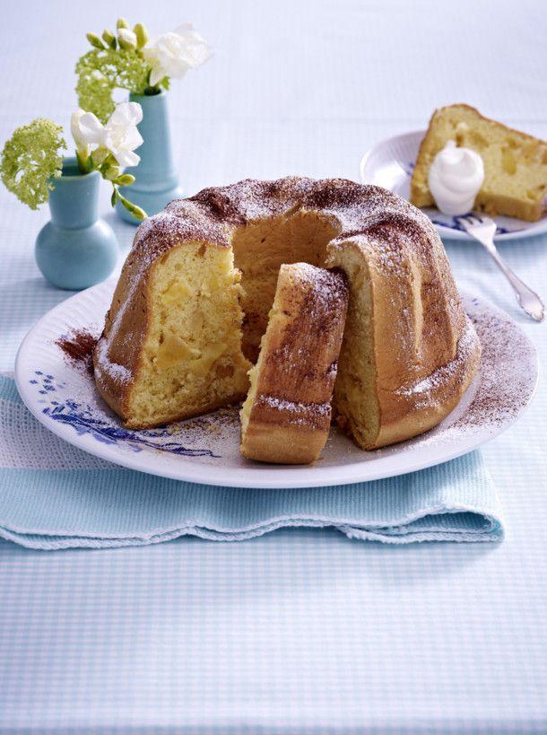 Unser beliebtes Rezept für Biskuit-Gugelhupf mit Äpfeln und mehr als 55.000 weitere kostenlose Rezepte auf LECKER.de.