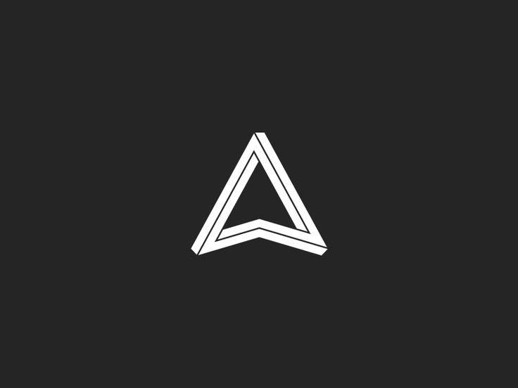 a symbol penrose triangle logos pinterest penrose