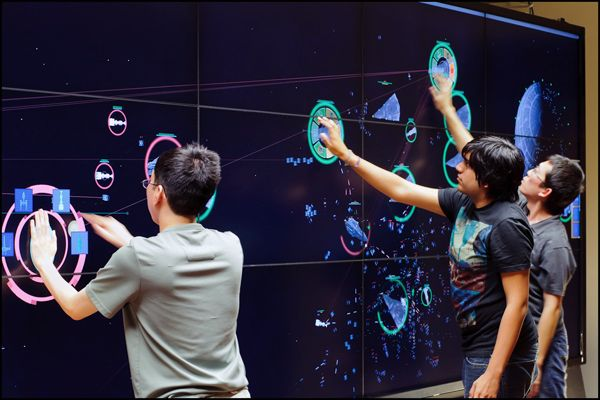 fleetcommander - A Wall of Touchscreens like this one would be popular with our undergrads