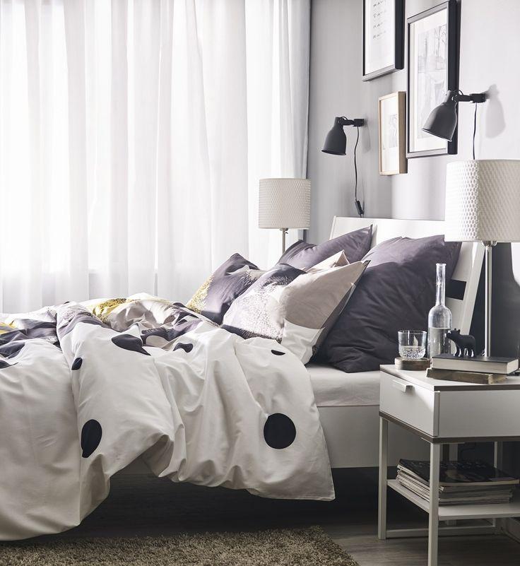 Το υπνοδωμάτιο λειτουργεί σαν το καταφύγιό σας! Χαλαρώστε, αφιερώστε περισσότερο χρόνο στα όνειρά σας. Νιώστε άνετα με το πάπλωμα που σας ταιριάζει.