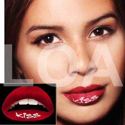Come avere un Tattoo sulle labbra e cambiarlo a piacere Lips Tattoo Temporary - Kiss Red