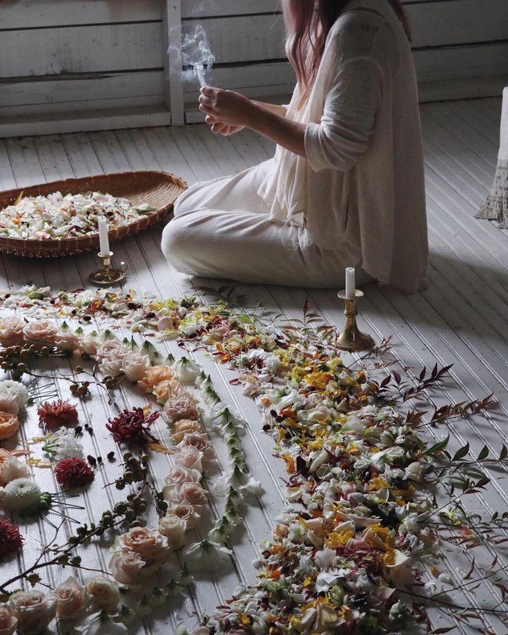 ✨w/ @aleajoy @freeorgy - floral, flower, flowers, wiccan, mandala