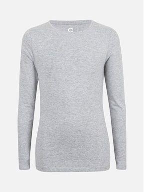 Melert mørk grå - Basic trøye