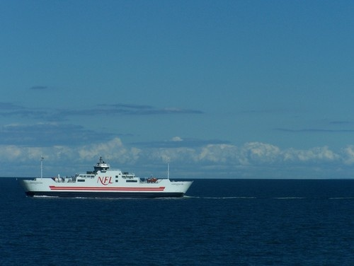 This is the ferry that takes passengers from Nova Scotia to PEI, everybody should experience this at least once