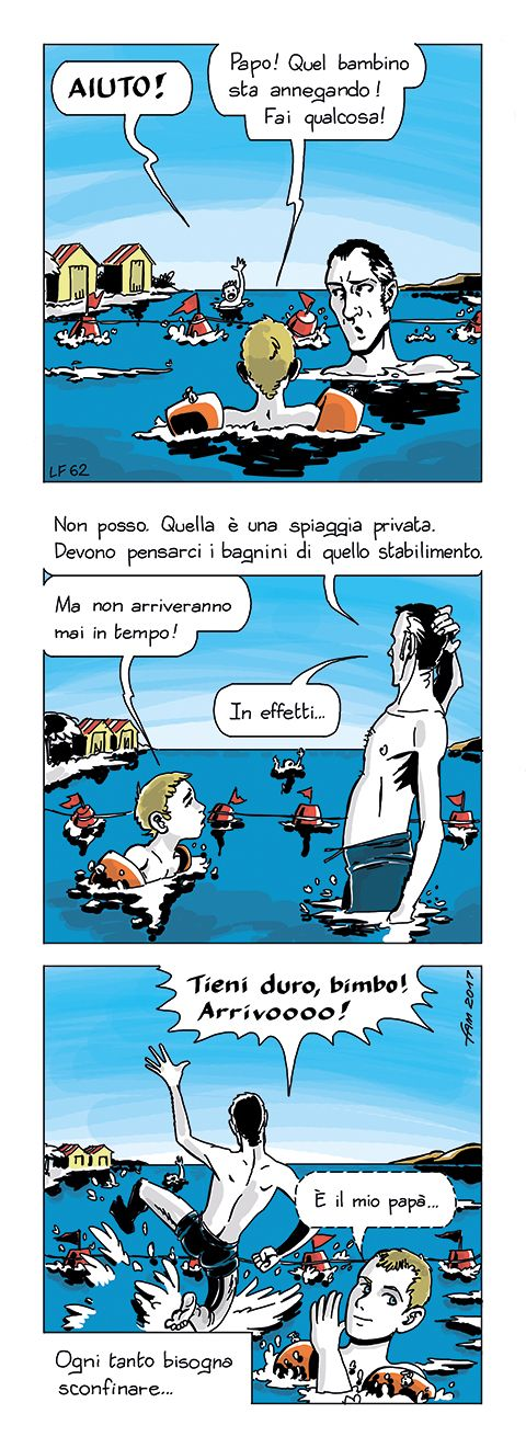 Acque territoriali | #FUMETTO di Fam