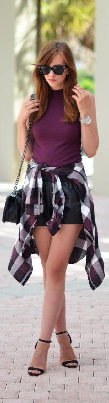 Purple Vibes / Fashion By Vogue Haus