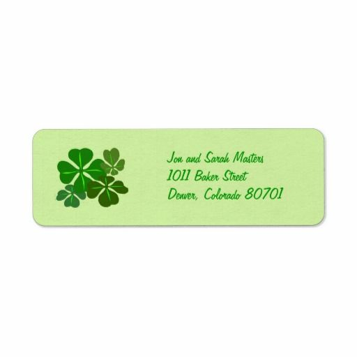 >>>Cheap Price Guarantee          Irish Shamrock Return Address Labels           Irish Shamrock Return Address Labels today price drop and special promotion. Get The best buyHow to          Irish Shamrock Return Address Labels Review from Associated Store with this Deal...Cleck Hot Deals >>> http://www.zazzle.com/irish_shamrock_return_address_labels-106764589275500474?rf=238627982471231924&zbar=1&tc=terrest