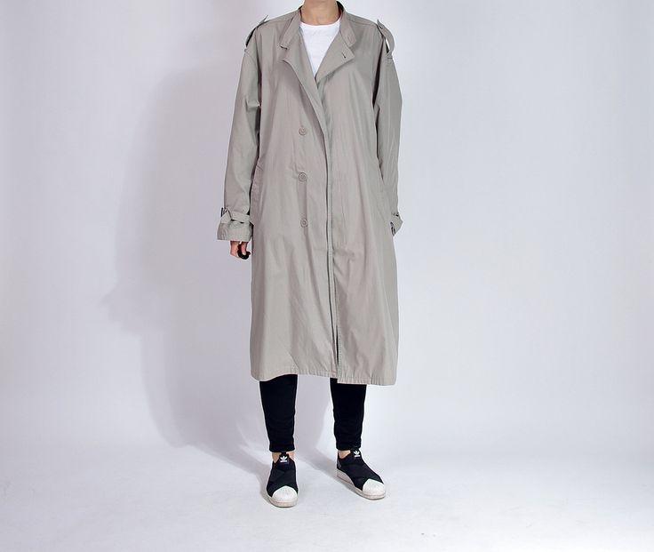 90s GP Rossetti Urban Vagabond Street Style Trench Coat / Size M/L