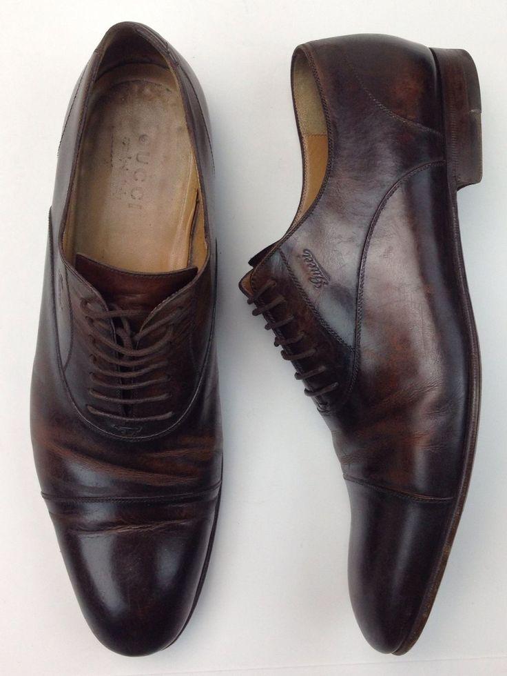 Cap Toe Lace Up Shoes