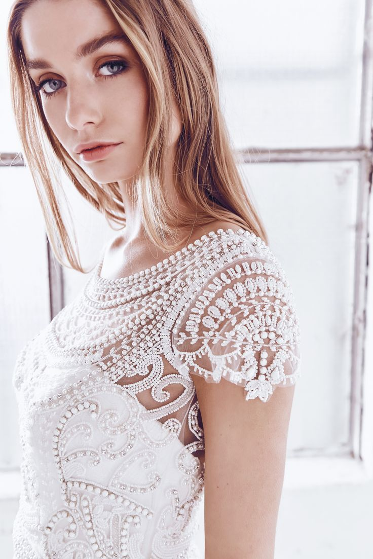 Anna Campbell Ceremony Collection | Florence Embellished Wedding Dress