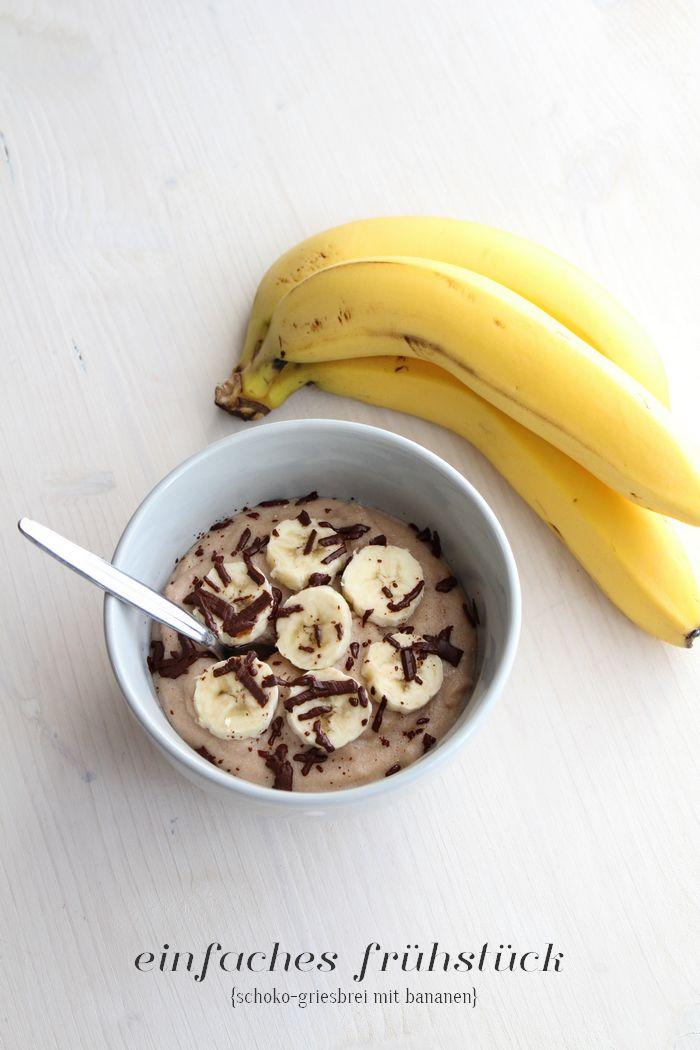 {Recipe} Mein Lieblingsfrühstück – Schoko-Griesbrei #breakfast