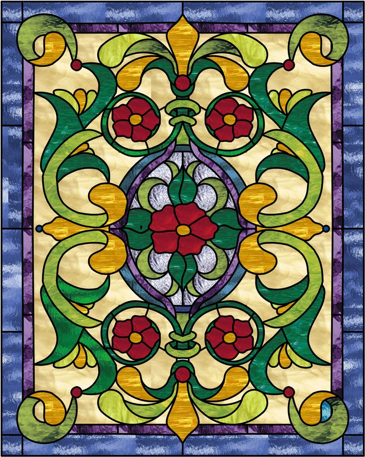 Antique Stained Glass Window Panels And Patterns U2014 Home Interiors