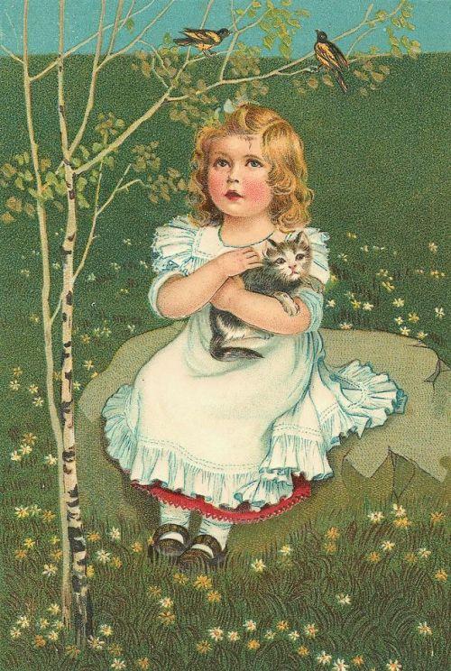 Английском рождеством, открытки старинные милые