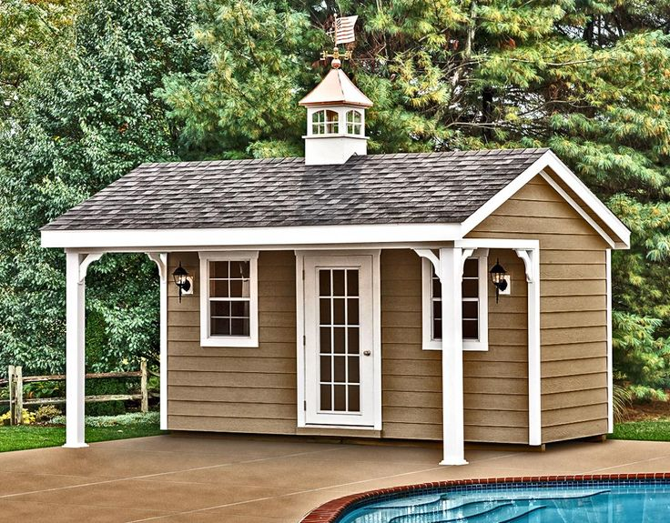 Pool House Sheds | Horizon Structures