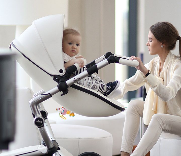 Contemporary Baby Strollers & Baby High Chairs. Luxury European baby strollers and designer baby high chairs! Practical yet elegant Award Winner products.
