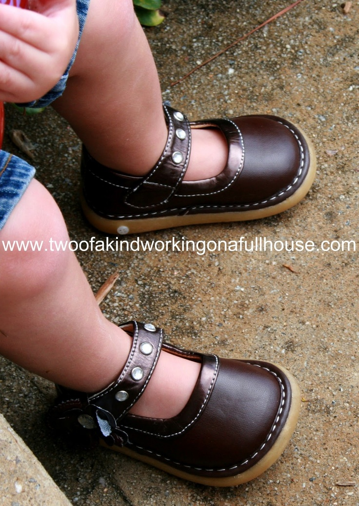 Pickle Footwear - Stylish Toddler Squeaky Shoes Review + Giveaway | Two of a kind, working on a full house