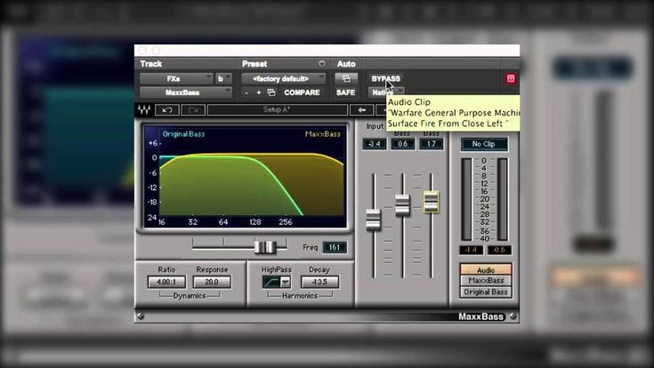 Pro Tools Tutorial: Using Waves MaxxBass In Audio Post Production