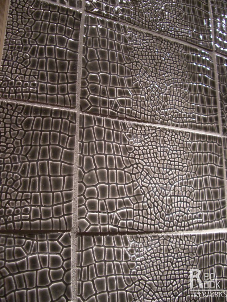 Snake Skin 4x6 5 Ceramic Tile Red Rock Tileworks For