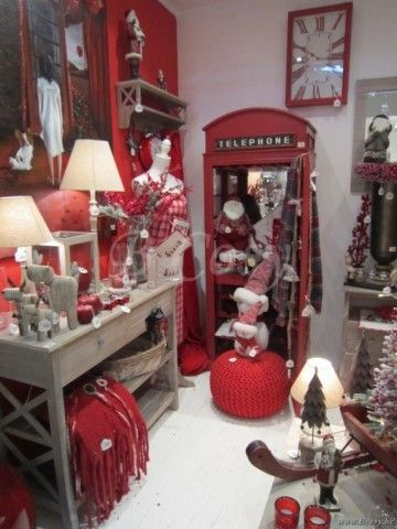 """J-Line Rode rechthoekige wandklok in rood hout 40x60 <span style=""""font-size: 0.01pt;"""">Jline-by-Jolipa-51149-antieke-stijl-decoratie-webwinkel</span>"""