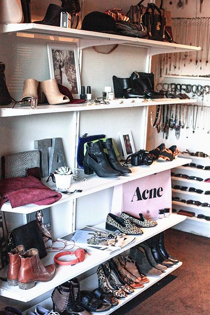 "Inside The Closets Of 6 L.A. Bloggers #refinery29  http://www.refinery29.com/los-angeles-bloggers#slide15  These days, my favorite stores in L.A. to shop for clothes are... ""I mostly shop online, but I love Mohawk General Store, Heist, and Pale Violet in downtown. Some major go-to places are All Saints, Club Monaco, Zara, Topshop, and Madewell.""The one thing I have way too many of in my closet is…""Shoes.""If I had to choose between shoes and bags, I'd choose…""I  would have said shoes three…"