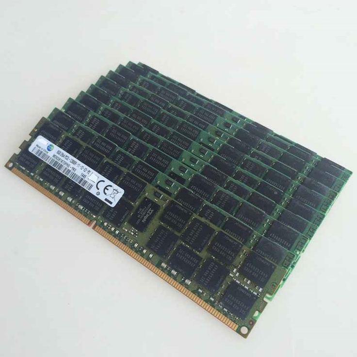 407.36$  Watch now - http://alif2l.worldwells.pw/go.php?t=32775621259 - 10pcs 10x8GB PC3-12800R DDR3 1600mhz ECC Memory REG Registered 240-pin RAM 2RX4 server memory 407.36$