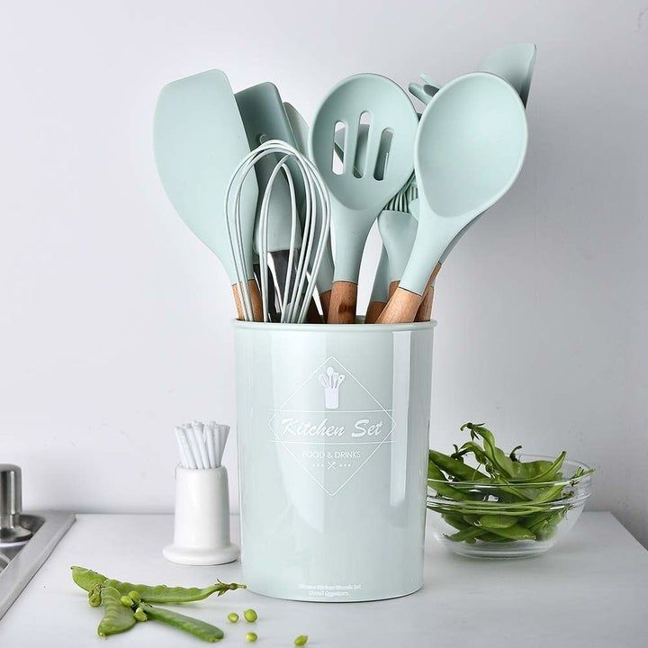 21 Practical Things That Are So Pretty You Ll Probably Have Dreams About Them Silicone Kitchen Utensils Silicone Cooking Utensils Cooking Tool Set