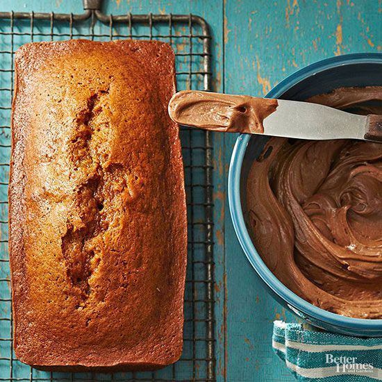 This classic quick bread is incredible on its own for breakfast, a snack, or dessert with a dollop of cocoa-spice frosting.
