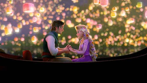 They're both fantastic singers and express their love through song. | 19 Reasons Rapunzel And Flynn Rider Are The Best Disney Couple