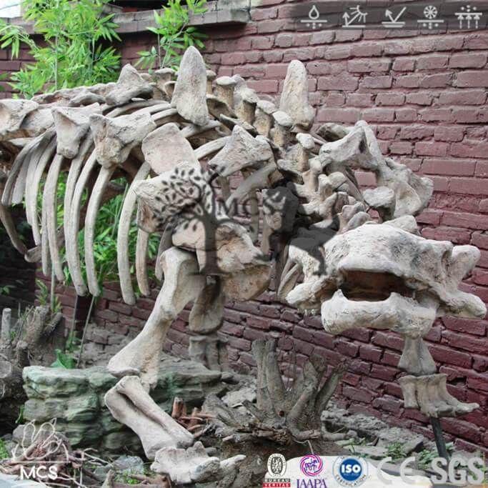SKA010-Dinosaur Ankylosaurus Skeleton Fossil Replica Bone Skeleton House Decorative Craft-Mcsdino