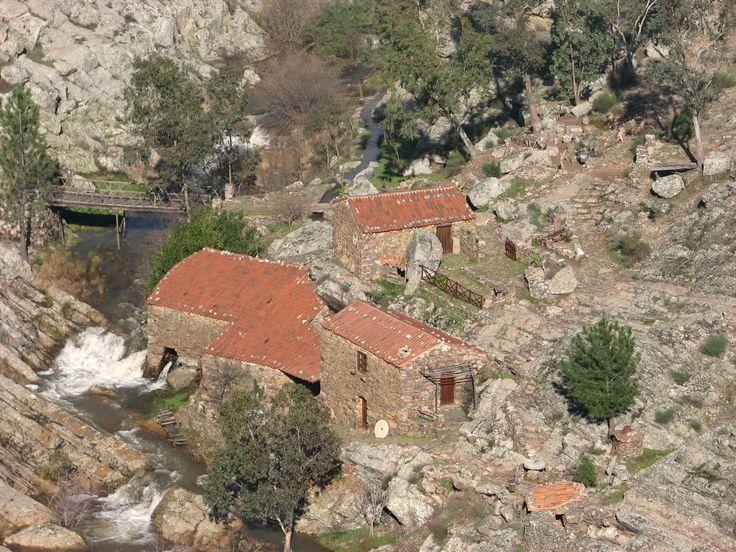 Los Molinos de Agua, restaurados y en funcionamiento, de Penha García.