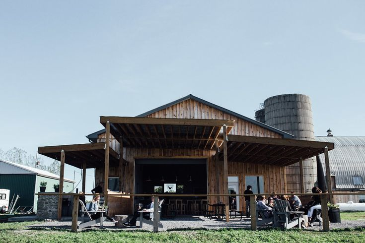 HInterland Winery and Country Road Beer Garden in Prince Edward County, Ontario