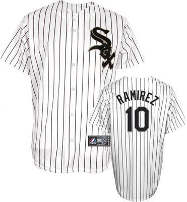 Chicago White Sox Alexei Ramirez 10 White Authentic Jersey Sale