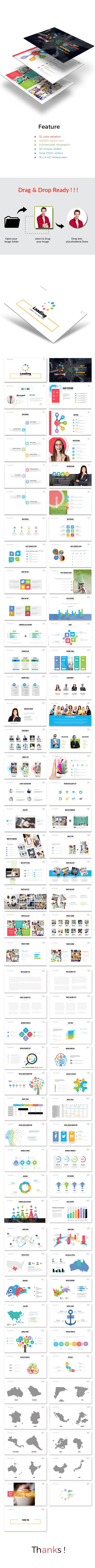 36 best powerpoint images on pinterest presentation design loading powerpoint template powerpoint templates presentation templates toneelgroepblik Images