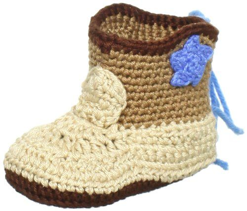 Jefferies Socks Baby-Boys Newborn Cowboy Boot Bootie, Khaki, Newborn. Cowboy boots perfect for fall. This is a single pair of booties. Pick the perfect color for your wardrobe. See size chart for detailed sizing information.
