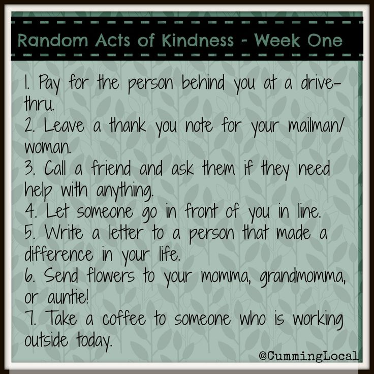 40th Birthday Random Acts Of Kindness: 16 Best Images About Random Acts Of Kindness On Pinterest