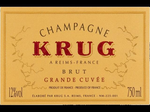 Krug Grande Cuvée blanc - Champagne - http://avis-vin.lefigaro.fr/vins-champagne/champagne/champagne/d17169-krug/v17172-krug-grande-cuvee/vin-blanc