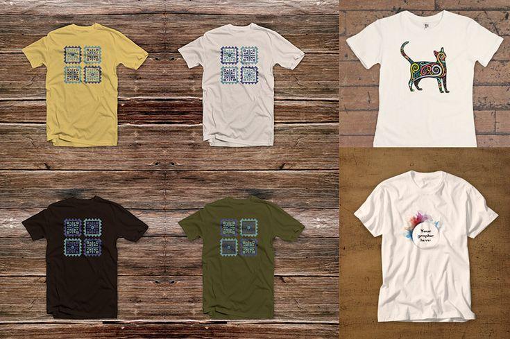 3 Free T Shirt Mock Ups T Shirt Design Template Create T Shirt Design Shirt Mockup