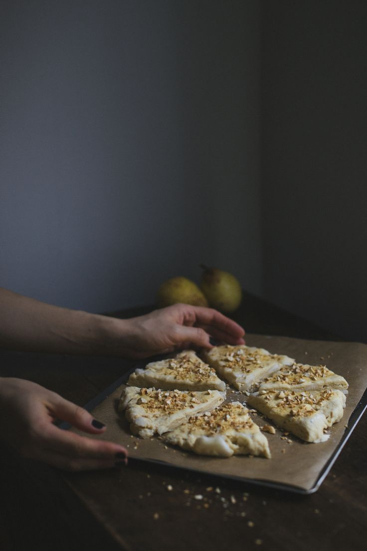Pear & Cashew Scones. Recipe and photograpy by Tanya Balyanitsa (more on Honeytanie.com)